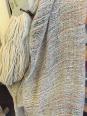 Lino grezzo e cotone